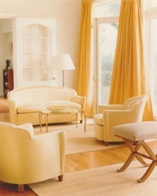 A Yellow Living Room by Stephen Sills