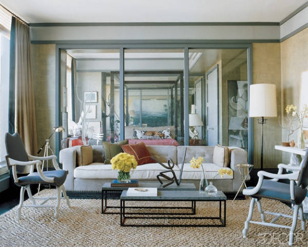 Mirrored Wall mirror, mirror ; alex's style pick: mirrored walls | luxury homes