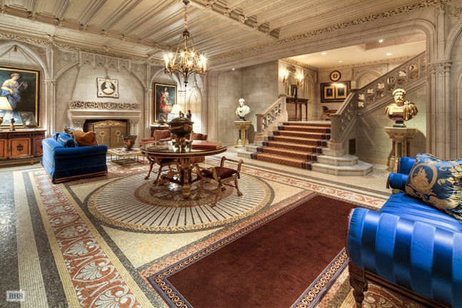 Inside Luxury Houses inside the house: the woolworth mansion; iconic manhattan mansion