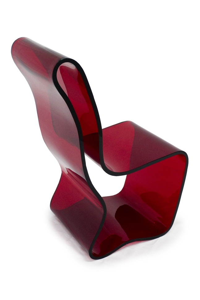 An Acrylic Chair Created by Sami 