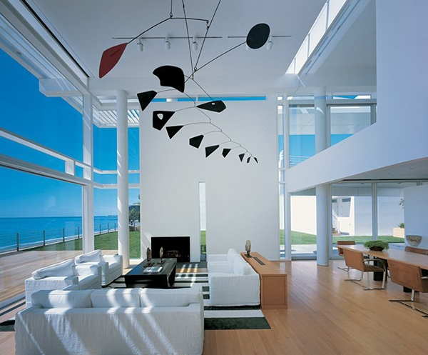 Richard Meier-Designed Beach House