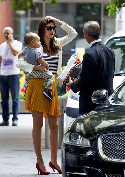 Miranda Kerr and Baby
