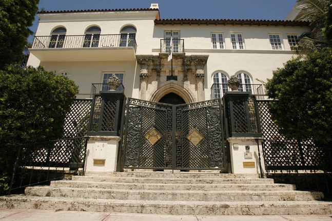 Versace House For Sale Versace's Miami House