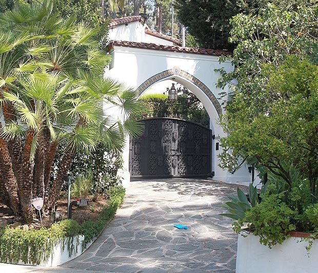 The Entry to the Los Feliz Estate