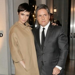 Brad Grey and His New Wife