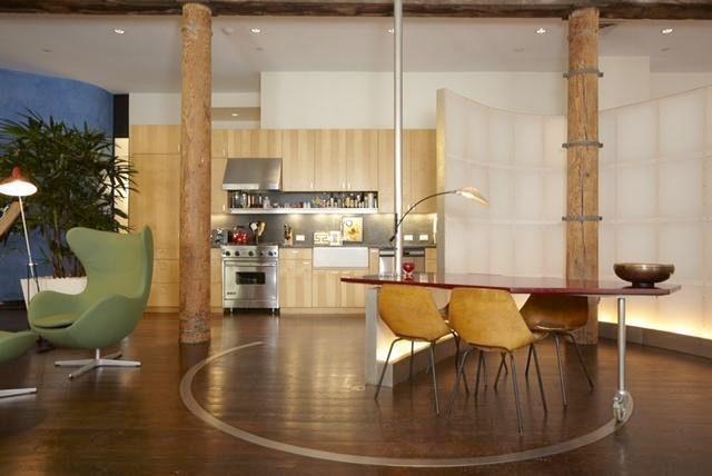 Claire Danes' Soho Loft