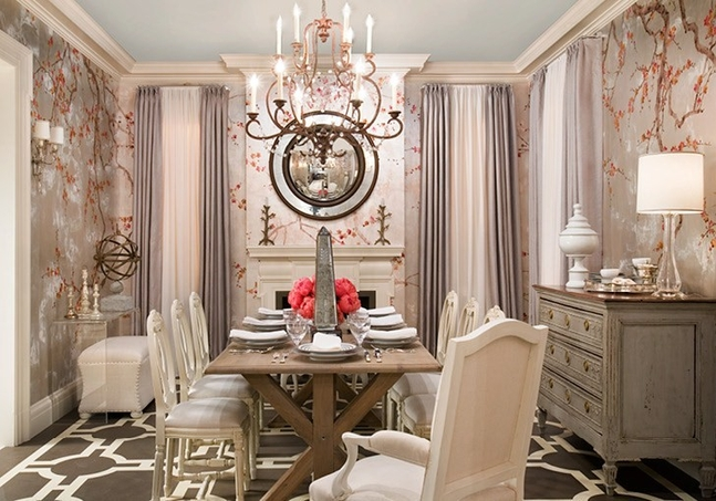 glamorous walls chinoiserie wallpaper luxury homes