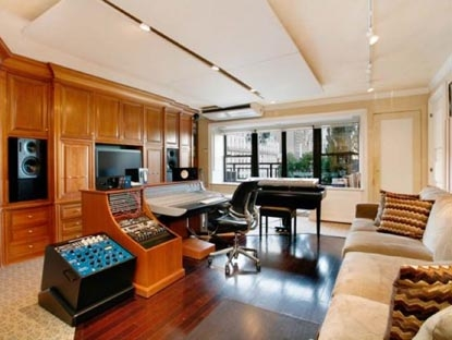 David Geffen's New Apartment