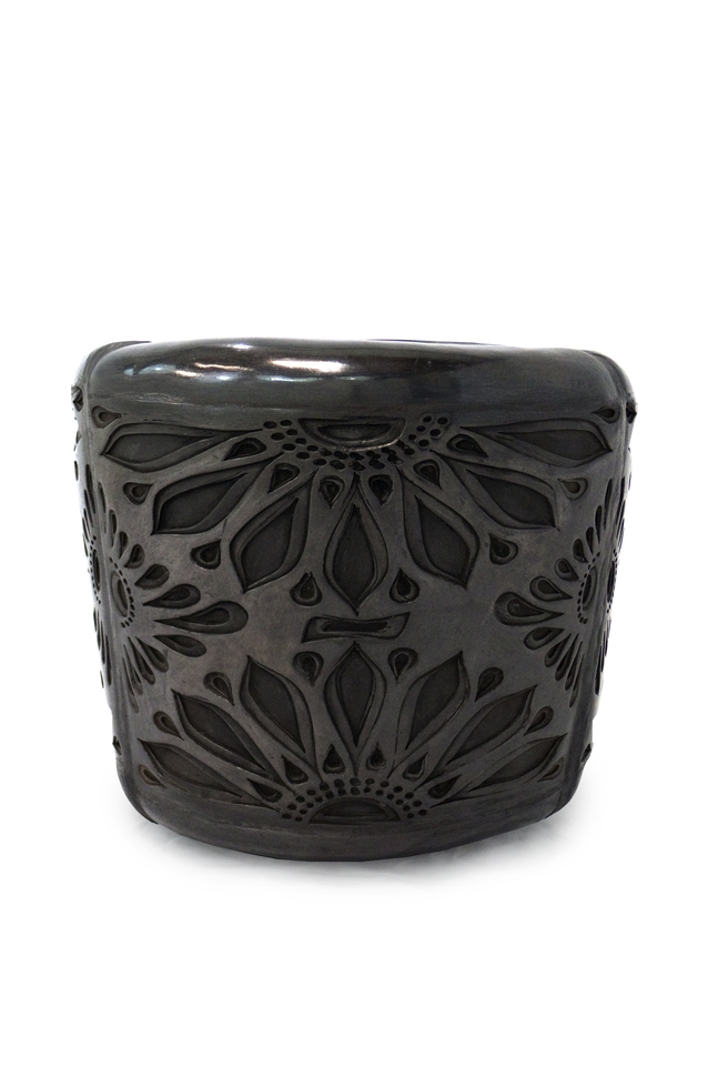 Sami&#39;s Black Clay Side Table