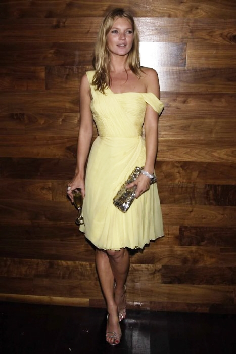 Kate Moss&#39;s Vintage Yellow