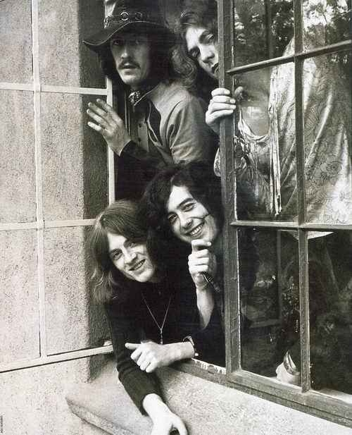 Led Zeppelin at the Chateau Marmont