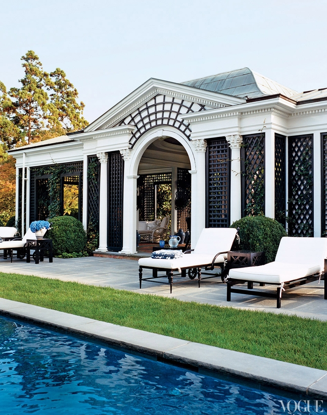 Tory Burch's Pool House
