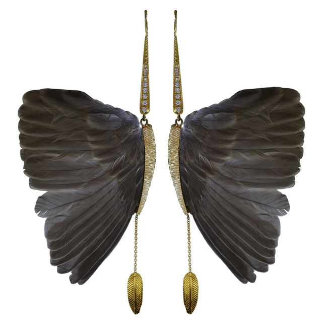 Daniela&#39;s &quot;Wings&quot; Earrings