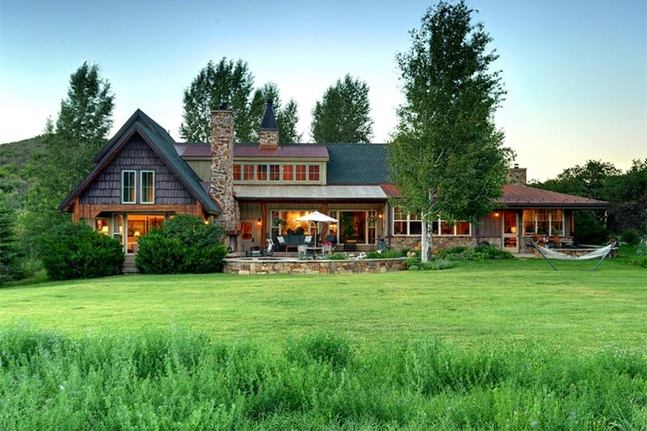 Luxury Ranch Living Snowmass Colorado Luxury Homes - Luxury ranch home