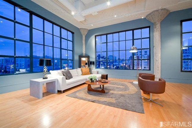 One-Of-A-Kind Corner Loft