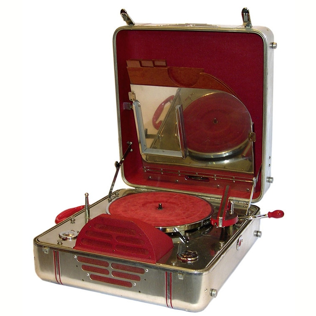 A Vintage Record Player