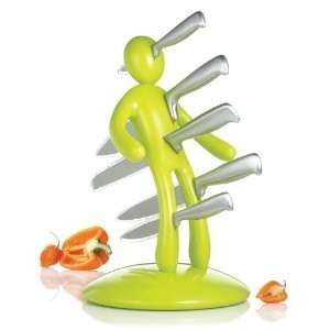 All Men are Bastards Knife Block