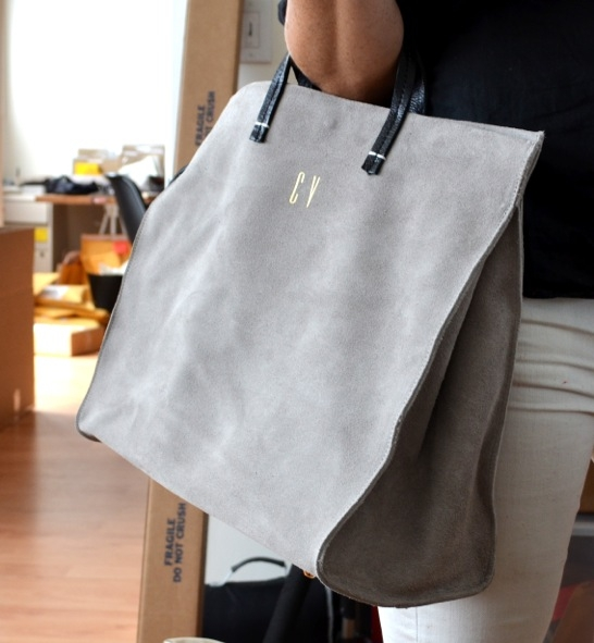 Simple Tote (Monogrammed)