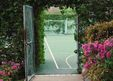 A Secret Tennis Court